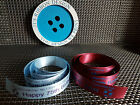 No 1 Aston Villa Football Fan Cake Ribbon or Gift Wrap 25mm x 1 meter