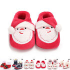 Baby Kid Boy Cute Girl Winter Warm Snow Boot Xmas Infant Soft Slipper Crib Shoes