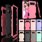 For Samsung Galaxy Note 8 Light Shockproof Hybrid Hard Bumper Soft Rubber Case