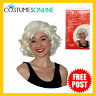 Fancy Dress Costume Wigs SW Cosplay Marilyn Monroe DELUXE Blonde Wig