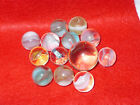 Vintage Marbles Lot of 13 German Akro Agate Peltier Hand Made Antique w  Shooter
