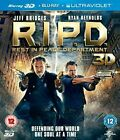 R.I.P.D. - 3D - REST IN PEACE DEPARTMENT - 2 DISCS - BLU RAY -  SEALED UK STOCK