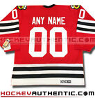 CHICAGO BLACKHAWKS ANY NAME  NUMBER CCM VINTAGE AWAY JERSEY RED NHL HOCKEY 1963