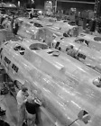 Production of B-17F (Flying Fortress)