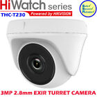 Hikvision HiWatch 3MP THC-T230 IP67 D/Night EXIR Turret HD Smart IR 40m Camera