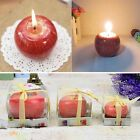 Red Apple Shape Fruit Scented Candle Wedding Valentine Christmas Candle Decor