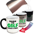 Funny Mugs Out Of Bounds Born To Golf Forced To Work MAGIC NOVELTY MUG