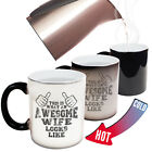 Funny Mugs This Is What An Awesome Wife Looks Like Family MAGIC MUG
