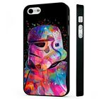 Colourful Stormtrooper Star Wars BLACK PHONE CASE COVER fits iPHONE $7.35 USD on eBay