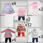 Wholesale Baby Girls Clothes Outfits 29 Items Babaluno & More 0-3-6-9-12 Months
