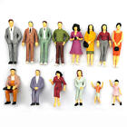 100x Building Layout Model People Train HO Scale Painted Figure Passenger Hot