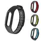 Double Color Wrist Strap For Xiaomi Mi Band 2 Silicone Bracelet Replacement Hot
