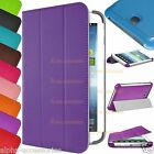 Smart Stand Leather Flip Case Cover for Samsung Galaxy Tab 3 Lite 7.0 T110, T111