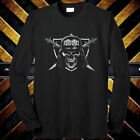 Slayer Nation Metal Rock Band Tour Logo Long Sleeve Black T-Shirt Size S to 3XL image