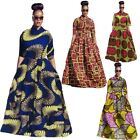 fashion dress - Fashion Womens Traditional African Print Dashiki Dress 3/4 Sleeve Plus Size