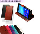 Galaxy Note 4 Case Leather Flip Wallet Cover Card Slot Soft PU Cover For Samsung