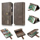 Luxury Genuine Leather Case Wallet Flip Cover For Apple Iphone 6 S 7 8 Plus X