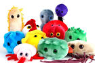 Giant Microbes Plush - Fabulous Plush Bacteria, Viruses and Christmas Cold