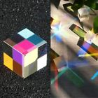15/20/22/25 mm Cube Defective Cross Dichroic Prism RGB Combiner Splitter Glass