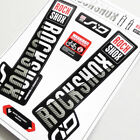 2018 New ROCKSHOX SID front fork sticker MTB DH replacement fork decals For Race