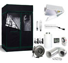 4' x 4' Grow Tent Kit 400w/600w/1000W HPS MH Reflector Fan+Carbon Filter Combo