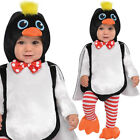 Baby Penguin Costume Fancy Dress Animal Christmas Toddlers 0-24 Months Amscan