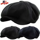 Oversized Solid Applejack Wool Blend Newsboy Gatsby Ivy Hat Golf Driver As