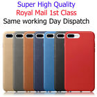 Genuine PU Leather Hard Back Case Cover For Apple iPhone 7 and 7 PLUS
