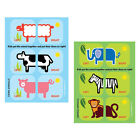 Shoezooz - Educational Shoe Stickers (Learn Left from Right) - 2 Pack