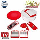 Genius Salad Chef Express 7 pieces Fruit and vegetable sl...