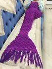 Pale And Comfortable Mermaid Blankets for Living Room and Sofa