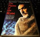 The Name of the Rose [1986] (DVD, 2004) Good - Sean Connery Abraham OOP RARE WB $3.25 USD