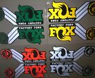 FOX fork engraving Reflective Bike stickers for MTB mountain bicycle cool decals