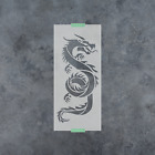Внешний вид - Chinese Dragon Stencil - Reusable Stencils of Chinese Dragon in Multiple Sizes