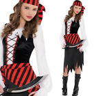Teens Pirate Costume Girls Fancy Dress Halloween Kids Captain 8-16 Years Amscan