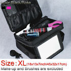 Cosmetic Professional Makeup Organizer Travel Large Storage Bag Box Suit Case