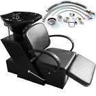 Backwash Shampoo Barber Chair Salon Beauty Bowl Sink Unit Station Spa Equipment