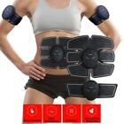 US EMS Remote Control Abdominal Muscle Trainer Smart Body Building Fitness Abs image
