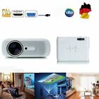 Manual portátil 2300LM 3D LED Proyector Home Cinema Theater VGA USB AV HDMI-VI