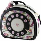 Betsey Johnson You Rang Floral Train Case Large Weekender Travel Bag