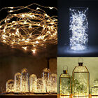 20/50/100LED Copper Wire Fairy String Light Battery Xmas Waterproof colorful  DS