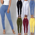 Sexy Womens Pencil Stretch Casual Denim Skinny Jeans Pants High Waisted Trousers