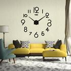 Wall Clock Living Room DIY 3D Home Decoration Mirror Large Art Design