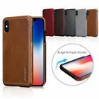 Pierre Cardin Genuine Leather Case Hard Back Cover Skin For iPhone X