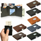 Exentri Trifold Leather Wallet // Various Colors
