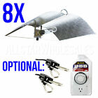 8x Adjust A Wing Large Reflector Series w/ Cord Grow Light Optional Rope + Timer