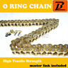 520H O Ring Motorcycle Drive Chain for Cagiva 125 Aletta Oro 1985 1986 1987