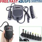 80W Universal Car Charger Power Supply Adapter For Laptop SONY HP IBM Dell