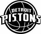 Detroit Pistons NBA Team Logo Decal Stickers Basketball on eBay