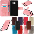 Magnetic PU Leather Wallet Flip New Case For Samsung Galaxy J3 J5 J7 Perx Prime